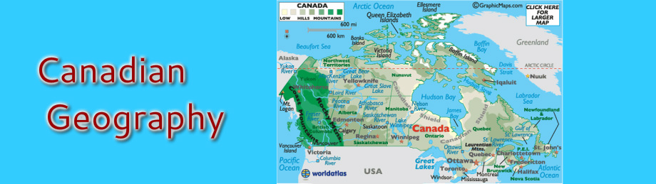 Canadian Geography - Mrs CA Kelly